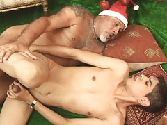 A tight, wet, maturing Christmas gift
