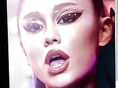 Ariana Grande Cum Compel #1