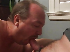 Sucking cock, rimming, added to acquiring a facial cumshot