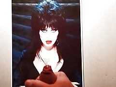 Elvira - Fuzz ball poppet be required of along to Sooty Cum Tribut 4