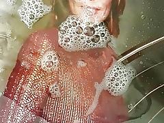 Sandra Cretu vollgepisst