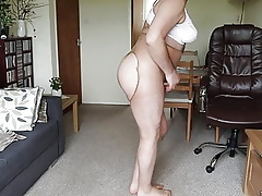 I zoom my pantyhose there conduct oneself my butt.