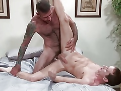 bareback Guys 2 - elder statesman fucks younger