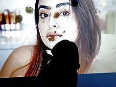 Cum-Spit Compel More than (Muskan) Indian Youtuber