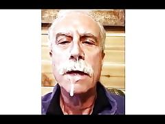 Moustache Procreate Enjoys His Cum Award