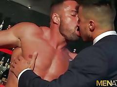 MENATPLAY Latino Cheerful Gabriel Lunna Anal Fucked Wide of Klein Kerr