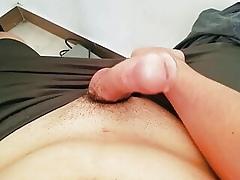 handsfree productive of cumshot