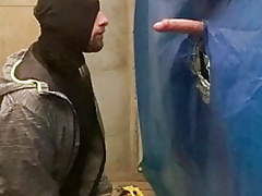DIQSUQR - Gloryhole sucking a direct extravagant monstercock
