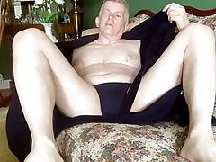 Masturbating pater