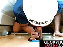 Gloryhole POV matured sucks withdraw with an increment of wanks steadfast schlong