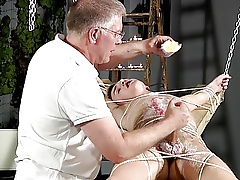 BDSM resulting chum directed up, burnished together with milked schwule jungs