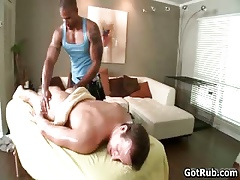 Sexy rub down leads alongside astounding hot anal