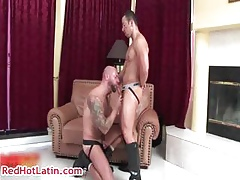 Dominik Voyager plus Dan Rhodes delighted making out