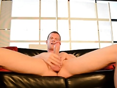 Unique whack shut off cumshot