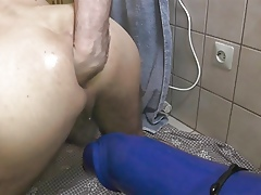Unequalled Anal Beast Dildo Fisting