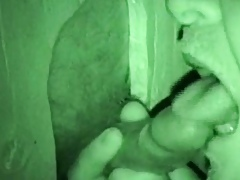 Gloryhole blithe bears closeup bj close to nightvision