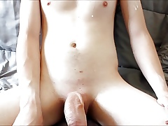 Cumshot Compilation : Young, Blindfold with an increment of Finalize