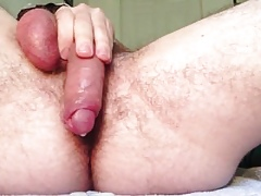 Self-fucking more hot cum harp on