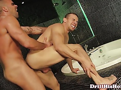 Mike Colucci squirting his gravamen