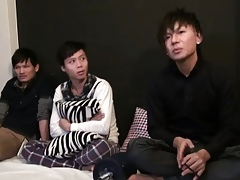 Japanese twink have sexual intercourse trinity