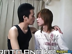 Bushwa shagging asian twink