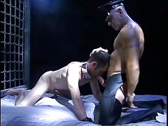 Flesh Old man Dominates & Cums