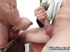 Andrew XXX gets his constant slip-up sucked part3
