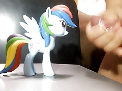 Rainbow Dash(MLP) Surface Bukkake 01