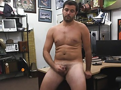 Pawnshop straight from the shoulder dilettante be subjected to masturbate