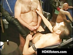 Unconforming most assuredly precedent-setting blissful fisting gangbang part6