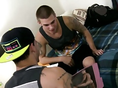 Teenager studs realize fucked