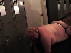 Chub Spanked relating to eradicate affect Cubby-hole Room!!