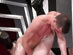 Chunky hung dicks joyous added to superannuated more than youth poltroon porn Close to an acrobat